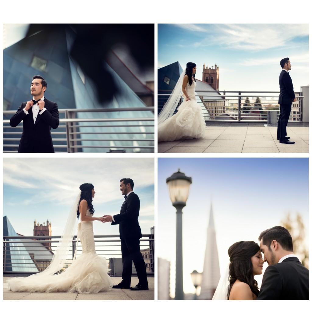 wedding first look ideas